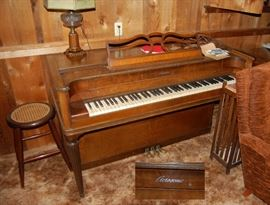 "Wonderful ""Acrosonic"" Vintage Piano"