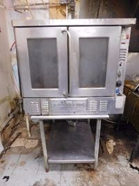 Blodgett Single Stack Convection Oven with Table