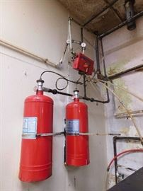 Kitchen Knight Fire Suppression System