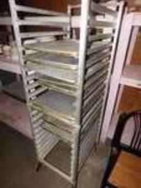 Rolling Sheet Pan Rack