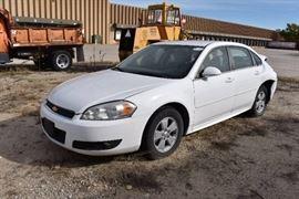 Wrecked 2010 Impala Sedan