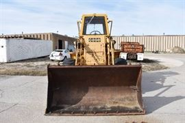 Case Articulating Wheel Loader With Cab
