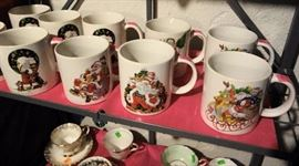 J.L.Hudson Dated Christmas Mugs