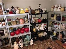 McCoy Cookie Jar Collection dating back to the 1930s Almost all $10.00 each