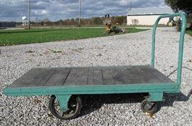 Early Fairbanks Industrial Cart