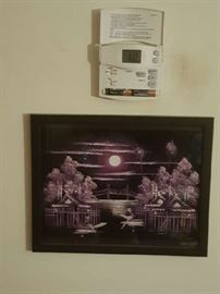 Framed print from Thailand