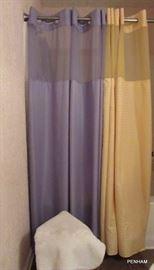 QVC shower curtains