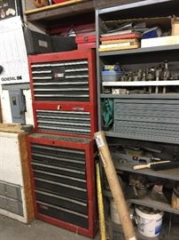 Tool boxes galore  Craftsman
