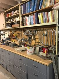 All cabinets and tools for sale