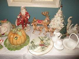 Fitz Floyd Christmas decor
