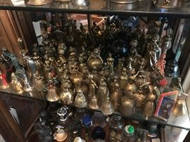 There is a beautiful Bell collection.  Many are signed numbered and rare Ballantyne Bells