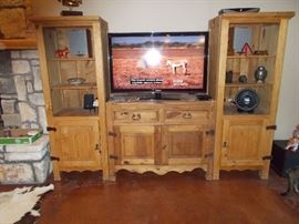 3 piece Mexican entertainment center