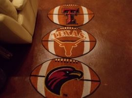 Rugs/football theme