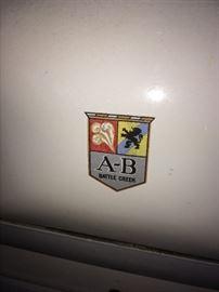 A-B Battle creek antique gas stove