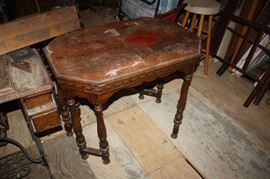 Antique table that needs a little love