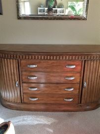 Buffet Credenza  4 drawer, 2 slide cabinets
