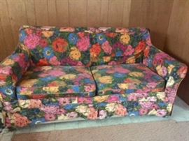 Vintage Floral Sleeper Sofa AVAILABLE FOR PRESALE