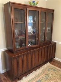 Beautiful 2 piece Cabinet - Breakfront