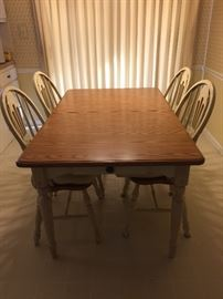 Country Table with 4 Chairs AVAILABLE FOR PRESALE