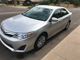 2014- 4 Door 6 Speed Automatic Toyota Camry. Mileage: 6,717  Vin: 4T4BF1FK5ER402829