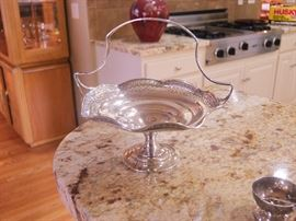 Sterling Silver Candy Dish.