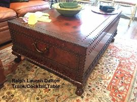 Ralph Lauren Dalton Trunk/Cocktail Table