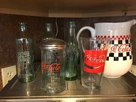 Various Coca-cola items. $5 each
