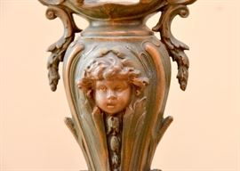 Pair of Art Nouveau Urns