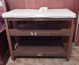 1950's Port-A-Dresser baby changing table
