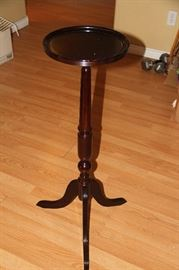 Tall Round Pedestal Table