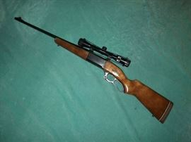 Savage 99, with scope
