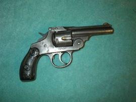 Iver Johnson top break, 38, revolver