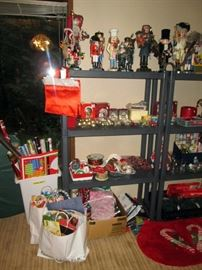 Basement:  Christmas Stuff