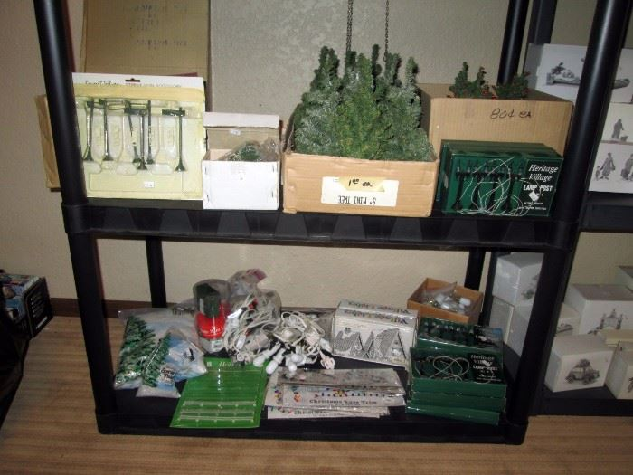 Basement:  Dept 56 Cottage's, House's, Dickens village and other things