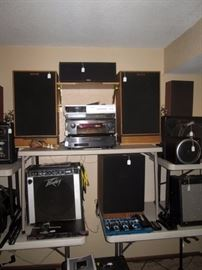 Basement:  Group Picture or Group Hug                                                                                                                                               (Start your own band) Amps, Speakers, etc.