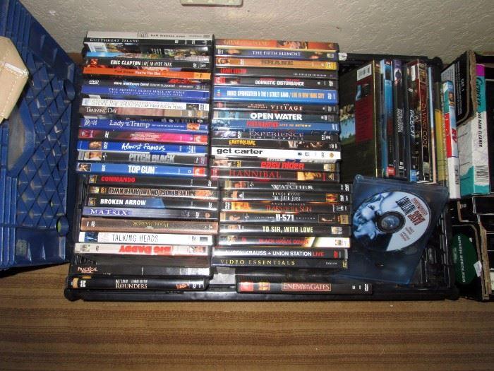 Basement:  CD Movies