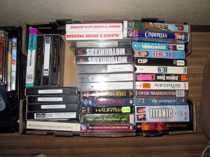 Basement: VHS Movies