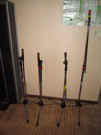 Basement:  On Stage Microphone Stands
