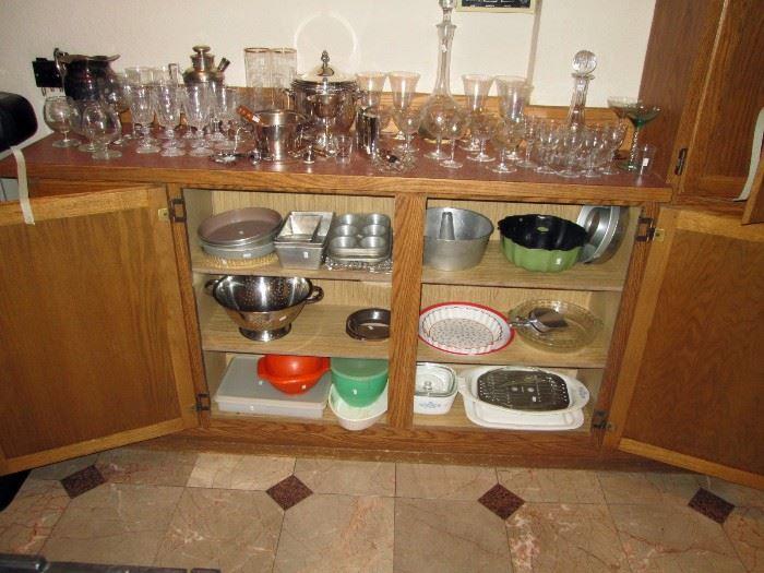 Kitchen:  Glasses