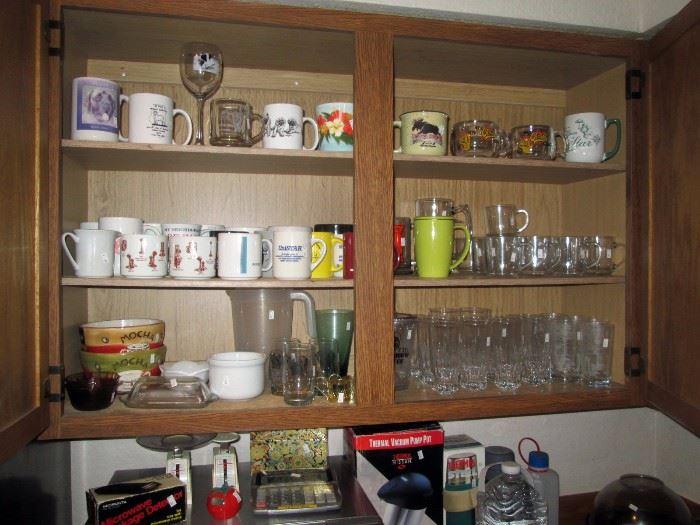 Kitchen:  Cups, Glasses