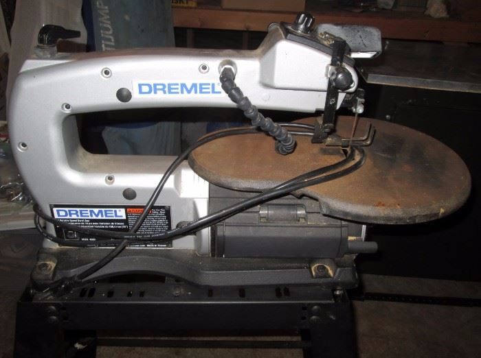Garage:  Dremel 1680 Scroll Saw