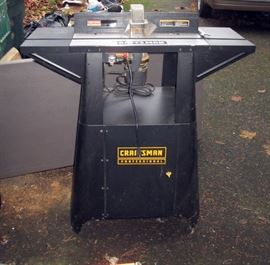 Garage:  Craftsman Router & Table