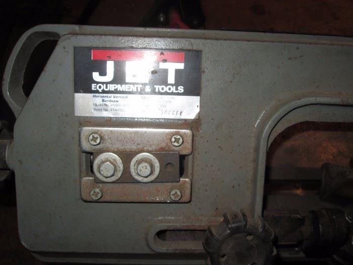 Garage:  Jet Band Saw