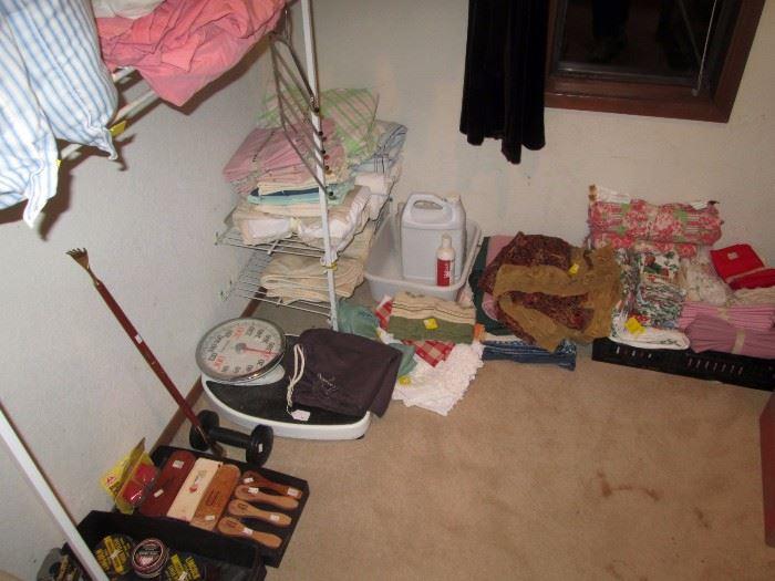 Upstairs Bedroom Left: