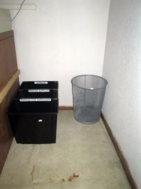 Upstairs Bedroom Right:  Waste Paper Baskets