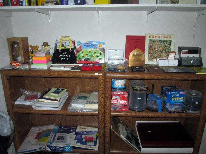 Upstairs Bedroom Right: CD's, Stationary, Note pads, Kids Books, Franklin Mint Boxes for Dollars