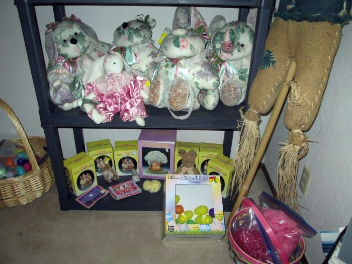 Upstairs Bedroom Center:  Halloween, Easter,