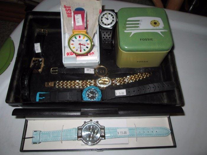 Living Room: Watches, etc