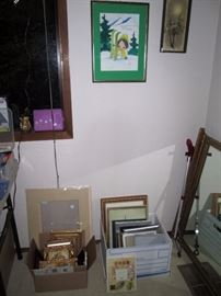 UpStairs Center Bedroom: Picture Frames