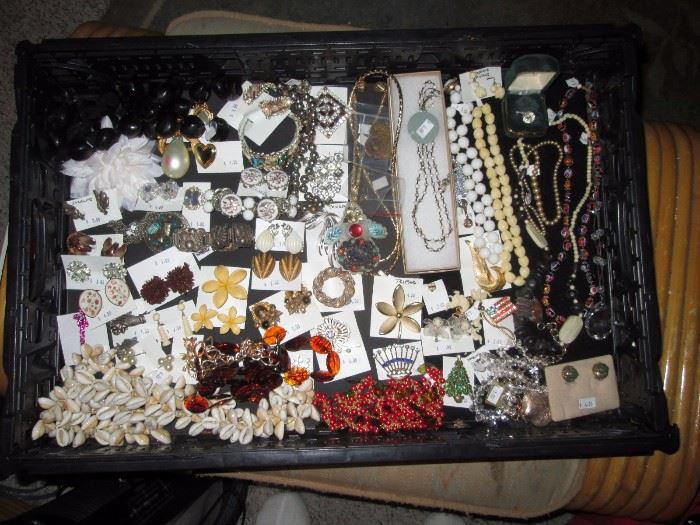 Living Room:  Costume Jewelry (No Gold)